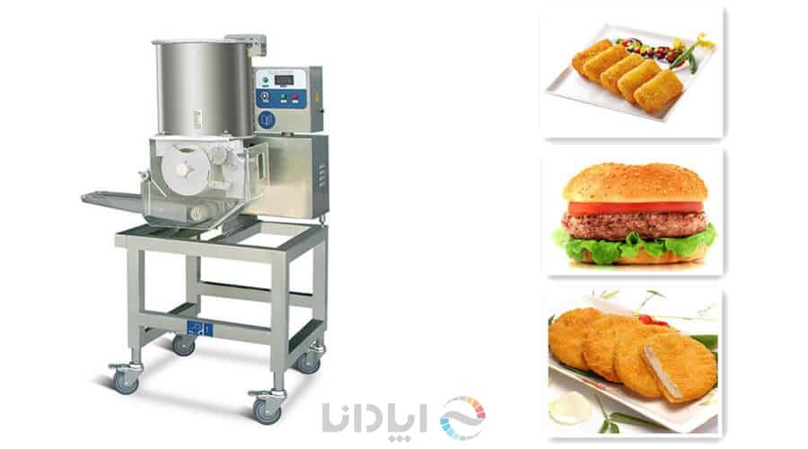 دستگاه همبرگر زن صنعتی