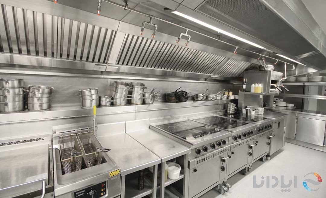 خرید تجهیزات آشپزخانه صنعتی